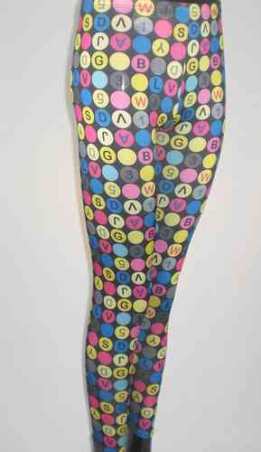 Legging Likra Estampado
